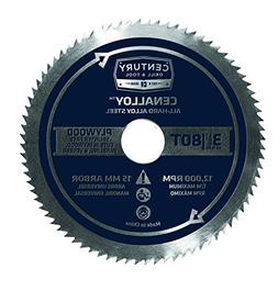 Century Drill and Tool 08236 Cenalloy All Hard Steel Plywood