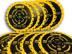 7 1/4 NEW Ultra Thin Saw Carbide Circular Saw Blade DeWalt