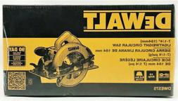 "DEWALT 15 AMP 7-1/4"" LIGHTWEIGHT CIRCULAR SAW DWE575 NEW SEA"