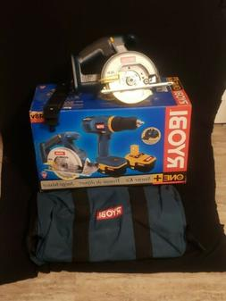 Ryobi 18.0v 5 1/2 Circular Saw  P501 + Bag + Box NEW!!