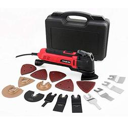 Hi-Spec 2.5A  Oscillating Multi-Tool with Keyless Tool Chang