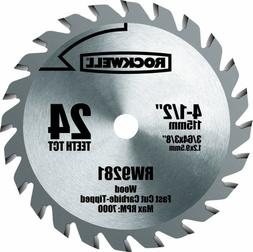 4-1/2 Carbide Saw Blade RW9281