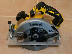 DEWALT 20v XR Li-on Brushless 7 1/4'' Circular Saw with Brak