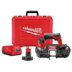 MILWAUKEE 242921XC Cordless Band Saw Kit,12.0V,27