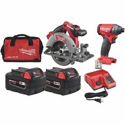Milwaukee 2730-22P M18 FUEL  Brushless Circular Saw & Impact
