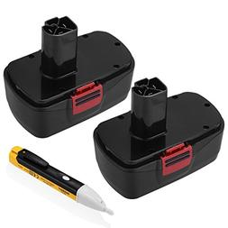 Powerextra 2 Pack 3.5Ah 19.2V Craftsman Replacement Battery