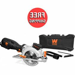 "WEN 3625 5-Amp 4-1/2"" Beveling Compact Circular Saw with Las"