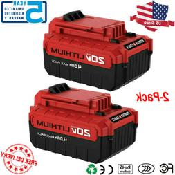 4.0Ah Lithium-Ion 20 Volt Battery for PORTER CABLE 20V Max P