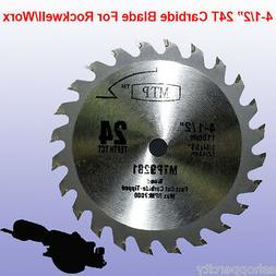"""4-1/2"""" inch Carbide Circular Saw Blade for ROCKWELL RK3441K"""