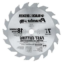 Black &  Decker 77-717 7-1/4 18Tht Carbide Saw Blade Consume