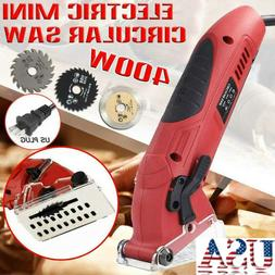 400W Electric Corded Mini Laser Circular Saw Hand Held Grind