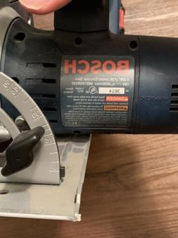 Bosch 5-3/8 circular saw 0601659339 with battery