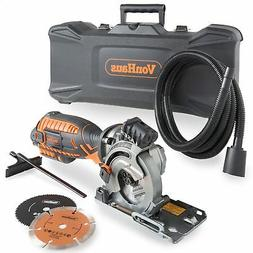 VonHaus Corded Ultra-Compact Circular Saw Kit 5.8 Amp with L