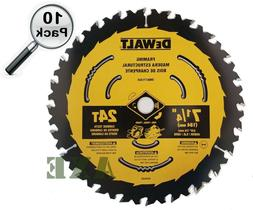 Dewalt 7-1/4-in 24T Framing Saw Blade with ToughTrack tooth