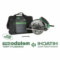 7-1/4-in Corded Circular Saw with Aluminum Shoe and Soft Cas