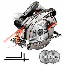 7.25 Circular Saw with Laser Guided Large Big 7 1/4 Inch Cor