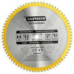 72 tooth fine finish saw