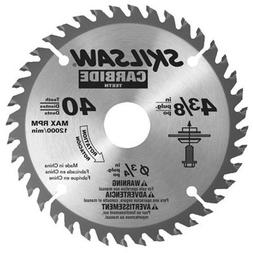 SKIL 75540 4-3/8-Inch by 40T Carbide Flooring Blade