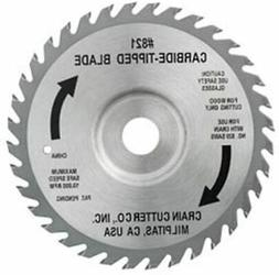 Crain Cutter 821C 6-1/2-Inch 40 Tooth Wood Saw Blade for 812