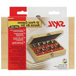 Skil 91012 12-Piece Router Bit Set