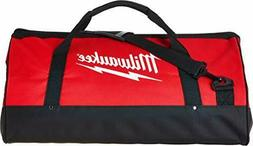 Milwaukee Bag 23x12x12nch Heavy Duty Canvas Tool Bag 6 Pocke