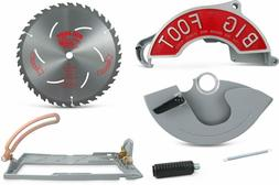 Big Foot SK-1025KIT-2 Style 2 Beam Saw Attachment Kit, 10-1/