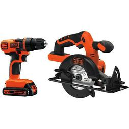black and decker 20v max lithium ion
