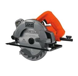 Black+Decker Circular Saw Corded Laser Guide Hand Power Tool