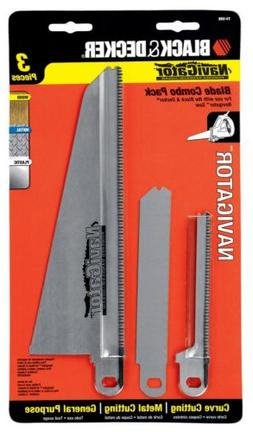 Black & Decker 74-598 Navigator Combo Set, 3-Piece