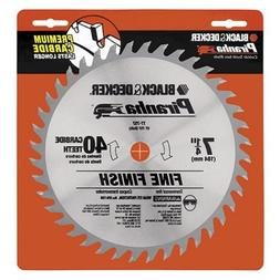 Black & Decker 77-757 Piranha 7-1/4-Inch 40 Tooth ATB Thin K