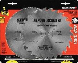 Black & Decker 2 Pack of Steel Blades  Part No. 73-017