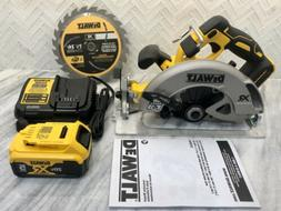 Brandnew DEWALT DCS570B 7-1/4 Circular Saw With 5.0ah Batter