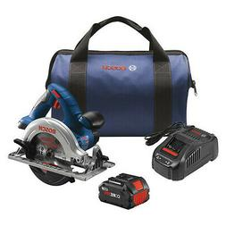 BOSCH CCS180-B14A Circular Saw Kit 6-1/2 In with CORE18 V Ba