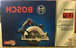 BOSCH CCS180B 18V Cordless 6-1/2 in. Circular Saw Tool Only