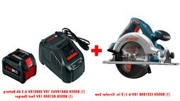 Bosch CCS180B14 6-1/2 in. Circular Saw Kit with High-Power C