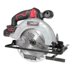 "Circular Saw 6.5"" Blade Diameter 4000 RPMs Cordless w/ Batte"