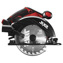 SKIL 20V 6-1/2 Inch Circular Saw with LED Light, Tool Only -