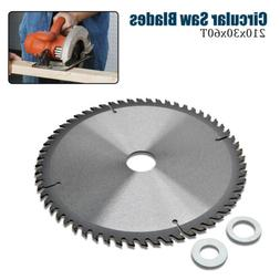 Circular Saw Blade 210×30mm Bore 60T 16mm Ring Chop fit for