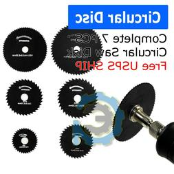 Circular Saw Disc Set Dremel-Accessory Mini Drill Rotary Too