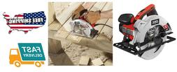 Circular Saw with Single Beam Laser Guide and Carrying Bag 1