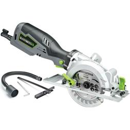 Compact 4-1/2 in. Circular Saw 5.8 Amp Electric Corded Hand