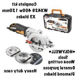 Compact Circular Saw Mini 240v Electric 120mm Plunge Power T