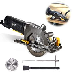 Compact Cordless Circular Saw with 24T Carbide Tipped Blade