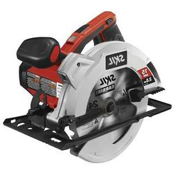 SKIL Corded Circular Saw 7-1/4-In 15-Amp With Steel Shoe Smo
