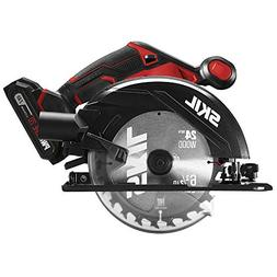 SKIL 20V 6-1/2 Inch Cordless Circular Saw, Includes 2.0Ah PW