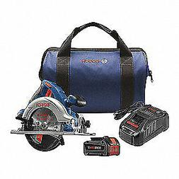 BOSCH Cordless Circular Saw Kit,Li-Ion,18.0V, CCS180-B14