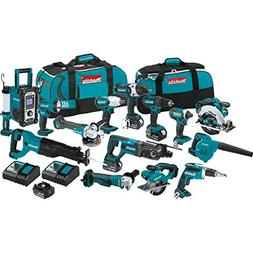 Makita Cordless 15-Pc. Combo Kit  XT1501 New