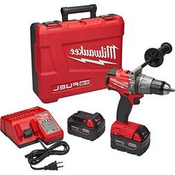 MILWAUKEE CORDLESS 18V M18 FUEL LITHIUM-ION HAMMER DRILL KIT