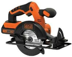 Cordless Power Circular Hand Saw With Battery & Charger Blad
