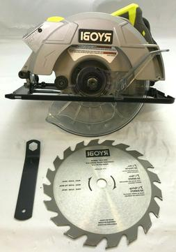 "Ryobi CSB135L 7-1/4""  CORDED Circular Saw with Laser BARE TO"